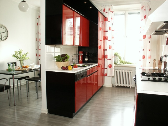 Our kitchen in Helsinki