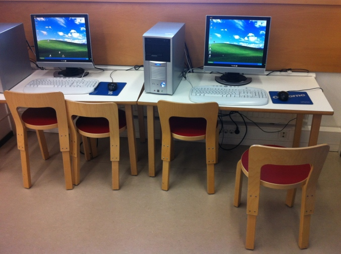 The children's computers