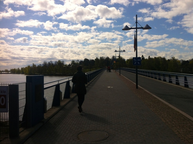 The bridge to Korkeasaari