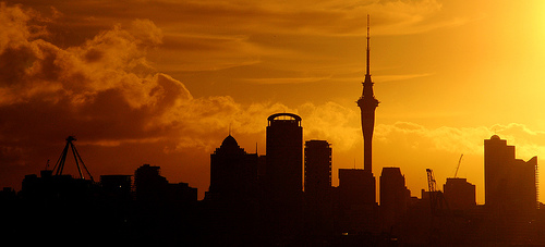 Auckland skyline Photo credit: Stephen Murphy, 2007