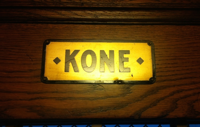 Kone - making elevators since they were made out of wood