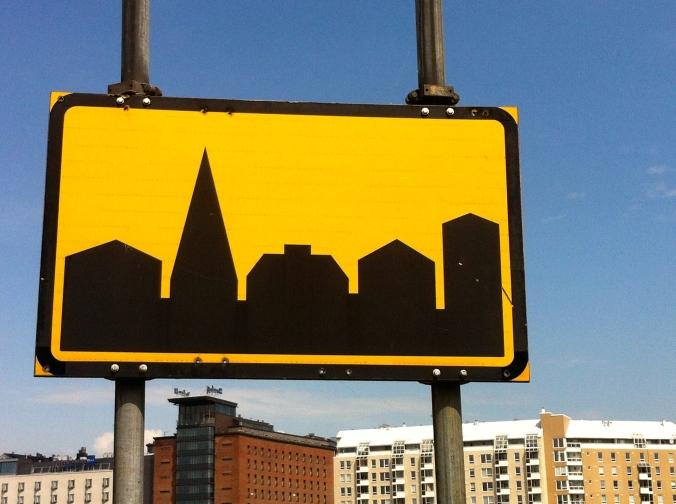 Helsinki signage