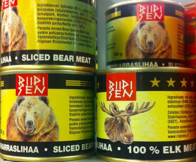 Bear & elk