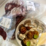 You know you're in Finland when the former tenants forget to take their reindeer fillets and escargot from the freezer