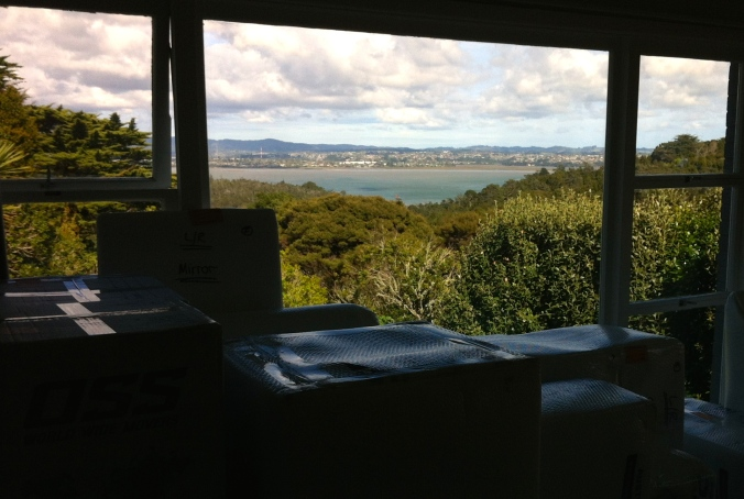 View from our lounge in Auckland (moving in 2012)