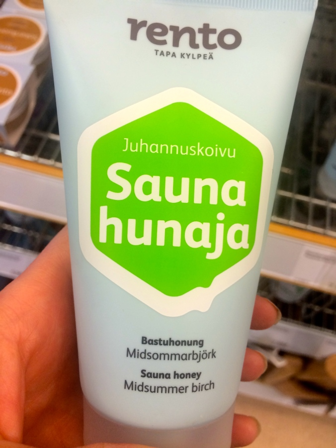 Sauna honey body mask