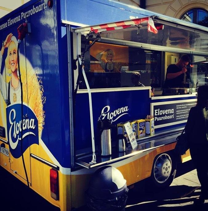 Porridge truck