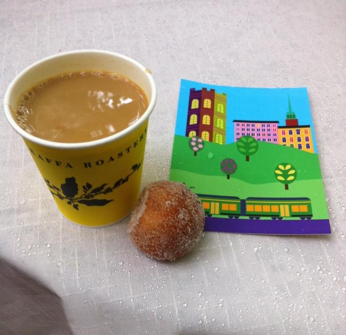 Kahvi ja munkki