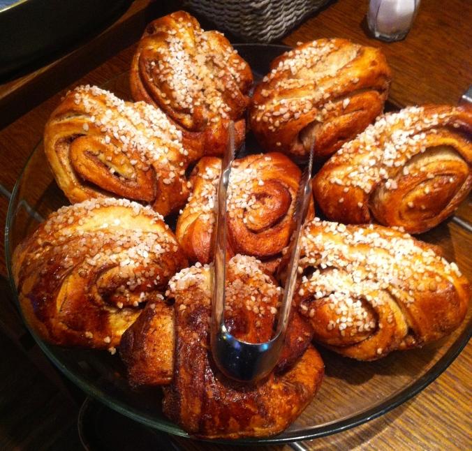 Korvapuusti (cinnamon buns)