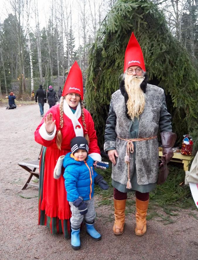 Miko & Joulupukki last year